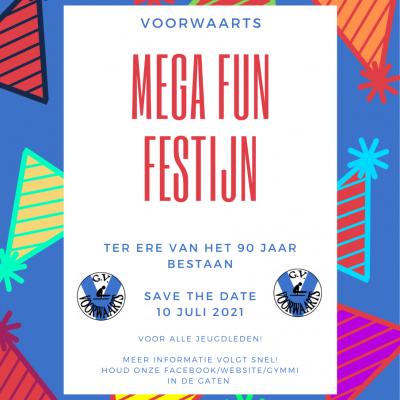 Voorwaarts Mega fun festijn!